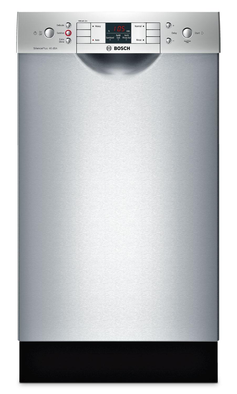 Bosch Stainless Steel 18 Quot Dishwasher Spe53u55uc