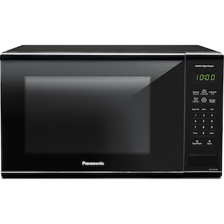 Panasonic Black Countertop Microwave (1.3 Cu. Ft.) - NNSG626B