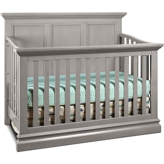 Zoey Panel Crib - Cloud
