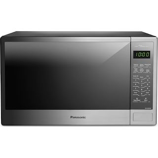 Panasonic Stainless Steel Countertop Microwave (1.3 Cu. Ft.) - NNSG656S