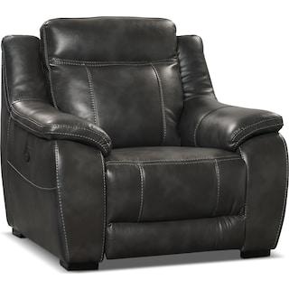 Rosslare Power Reclining Chair – Grey