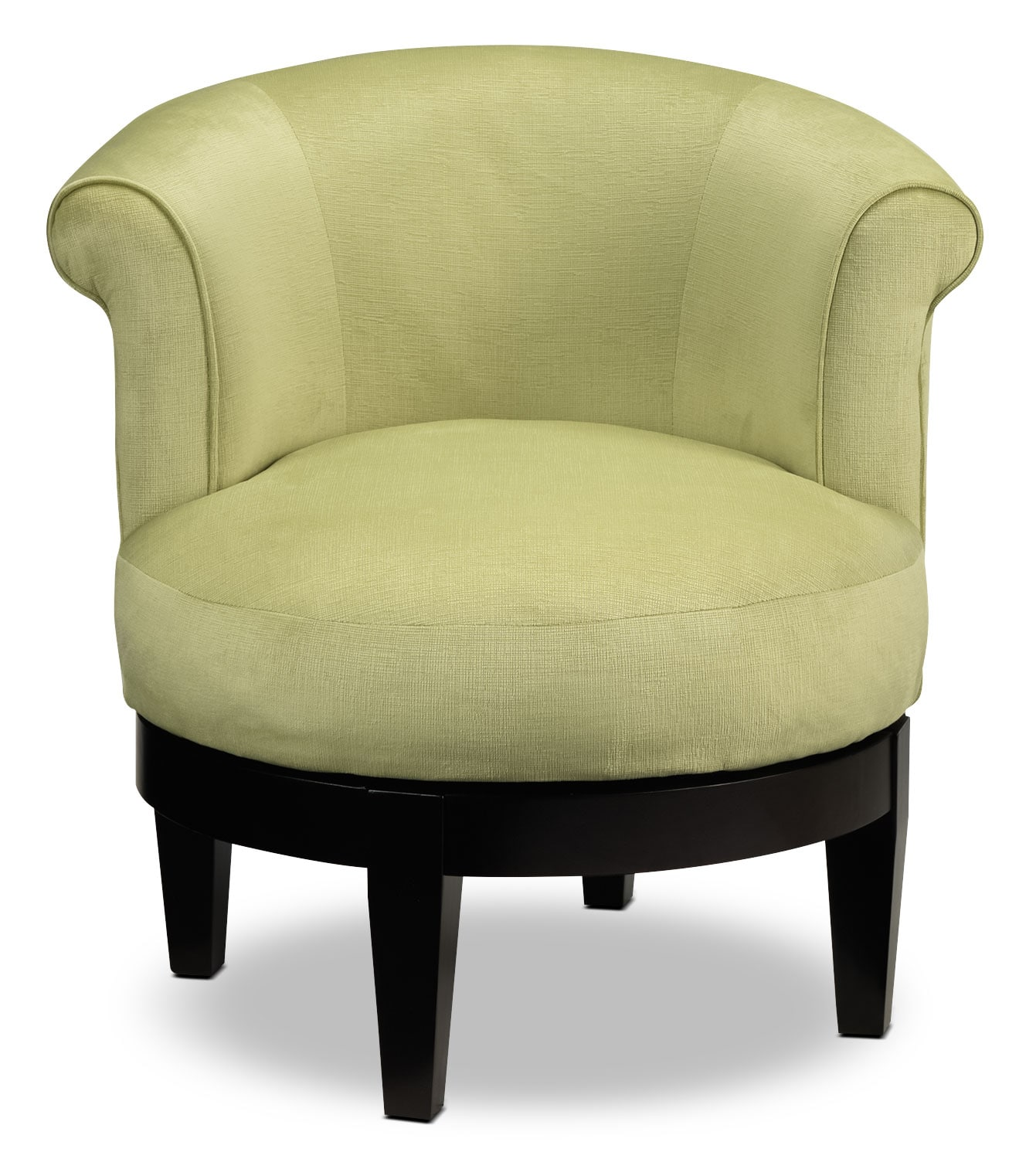 Lemoore Accent Swivel Chair Lime