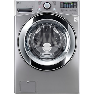 LG Graphite Steel Front-Load Washer (5.2 Cu. Ft.) - WM3670HVA