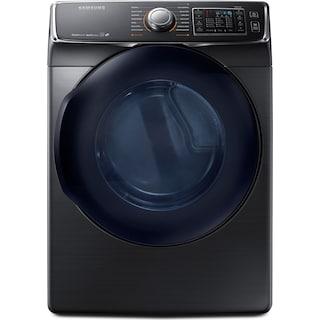 Samsung 7.5 Cu. Ft. Electric Dryer – Black Stainless Steel DV50K7500EV/AC