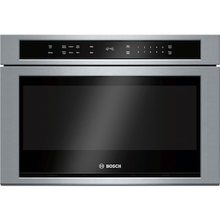 Bosch Stainless Steel Built-In Drawer Microwave (1.2 Cu. Ft.) - HMD8451UC