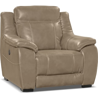 Rosslare Power Reclining Chair – Taupe