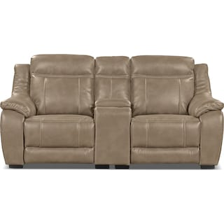 Rosslare  Power Reclining Loveseat – Taupe