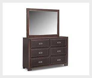 Mason dresser & storage mirror