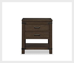 Camryn nightstand - cocoa
