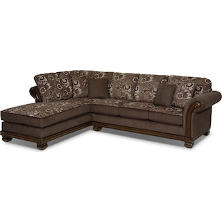 Halewood Quartz 2-Piece Left-Facing Chaise Sectional
