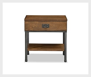 Shipyard End Table - Nutmeg