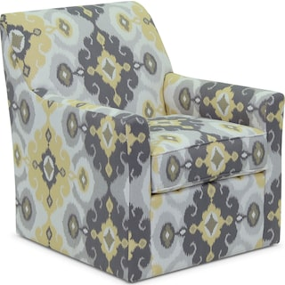 Inspired by U Accent Swivel Chair – Butter