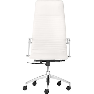 Sheffield High Back Office Chair - White