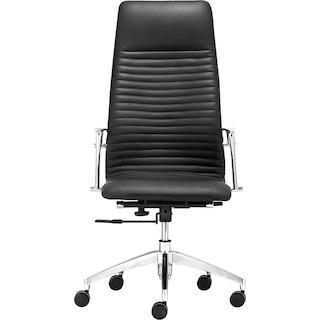 Sheffield High Back Office Chair - Black