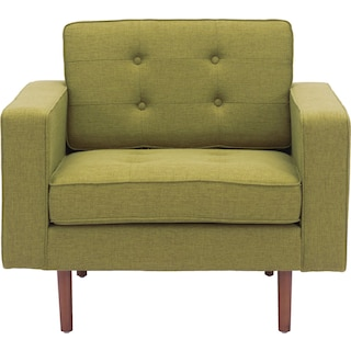 Lancaster Accent Chair - Green