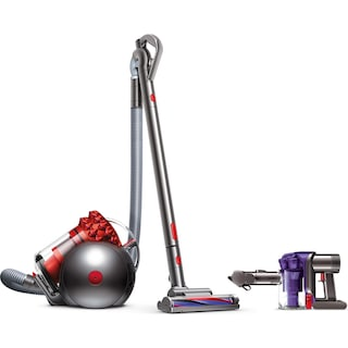 Dyson Handheld Vacuum and Cinetic Big Ball Canister Vacuum