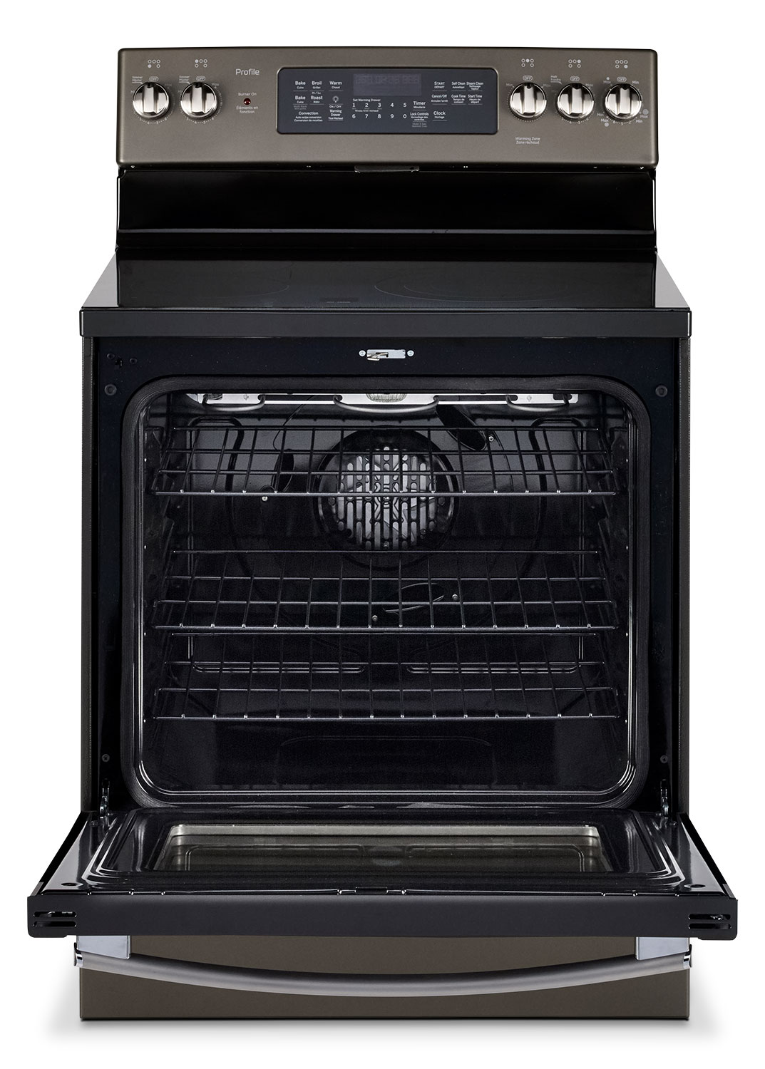 Electric Kitchen Stoves Reviews ~ Ge cu ft freestanding electric convection range