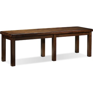 Fintown Bench - Walnut
