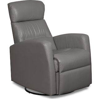 Fullerton Rocker Reclining Chair – Light Grey