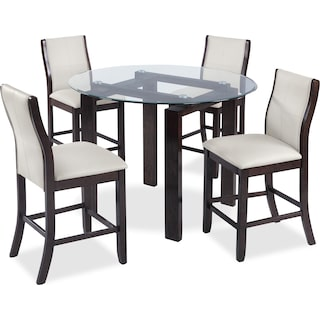 Springdale 5-Piece Dining Package – Taupe