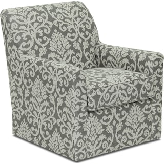 Inspired by U Accent Swivel Chair – Linen
