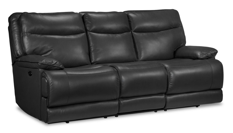 Oranmore Power Reclining Sofa Smoke Grey