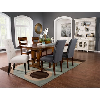 Rio Vista 7-Piece Dining Package with Assorted Dining Chairs