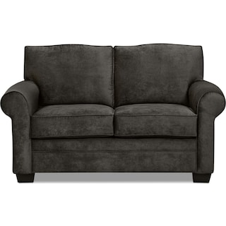 Inspired by U Dov Loveseat – Charcoal
