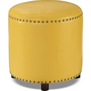 Orland Ottoman – Mustard Yellow