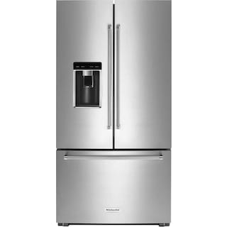 KitchenAid 23.8 Cu. Ft. French-Door Refrigerator – KRFC704FSS