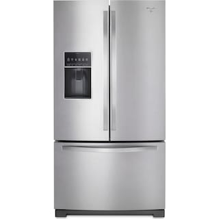 Whirlpool 27 Cu. Ft. French-Door Refrigerator – WRF767SDEM