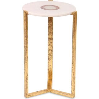 Buxton Beam Accent Table