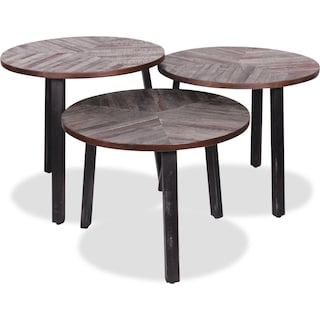 Buxton Three Leaves Accent Tables – Set of 3