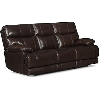 Sandymount Reclining Sofa – Brown