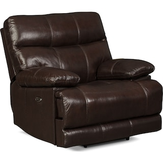 Sandymount Power Reclining Chair – Brown