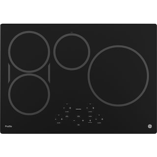 """GE Profile 30"""" Electric Induction Cooktop – PHP9030DJBB"""