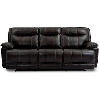 La Habra Reclining Sofa – Black