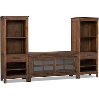 """Grover Beach 3-Piece Entertainment Centre with 52"""" TV Opening"""