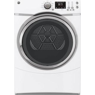 GE 7.5 Cu. Ft. Electric Dryer – GFMS170EHWW