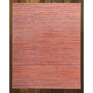 Lazzaro Orange 5' x 8' Area Rug