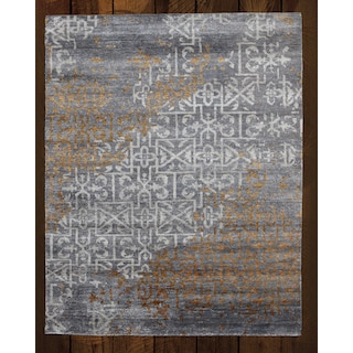 Riva Grey/Gold 8' x 10' Area Rug