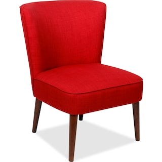 Fahan Accent Chair – Cherry