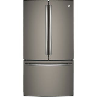 GE 28.5 Cu. Ft. French-Door Refrigerator – GNE29GMKES