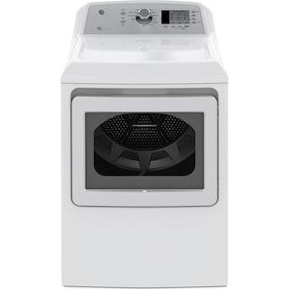 GE 7.4 Cu. Ft. Electric Dryer with Sensor Dry – GTD65EBMKWS