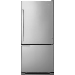 Amana 18 Cu. Ft. Bottom-Mount Refrigerator – ABB1921BRM