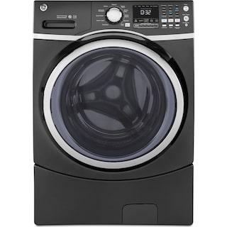 GE 5.2 Cu. Ft. Front-Load Washer – GFW450SPKDG