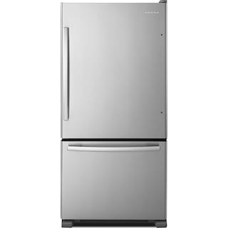 Amana 22 Cu. Ft. Bottom-Mount Refrigerator with EasyFreezer™ – ABB2224BRM