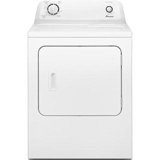Amana 6.5 Cu. Ft. Electric Dryer with Automatic Dryness Control – YNED4655EW