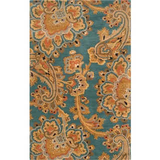Modrite - Blue/Brown 5' x 8' Area Rug