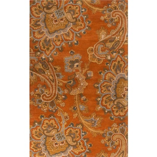Modrite - Orange 5' x 8' Area Rug